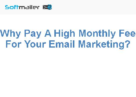 Softmailer - Email Marketing and Autoresponder review