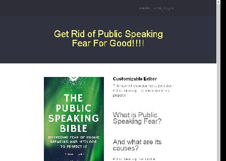 Public Speaking Bible review