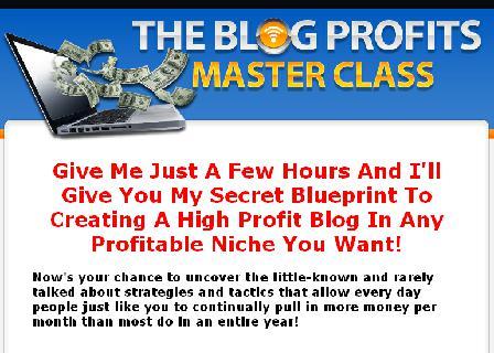Blog Profits Masterclass review