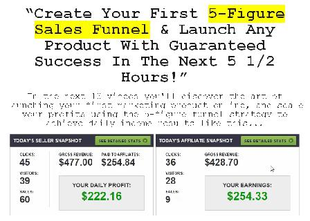 Five Figure Funnel review