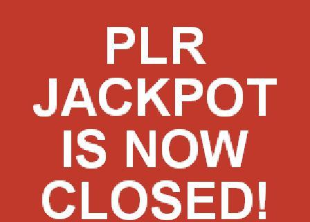 PLR Jackpot review