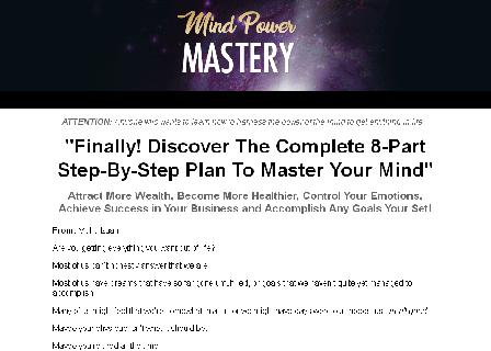 Mind Power Mastery review