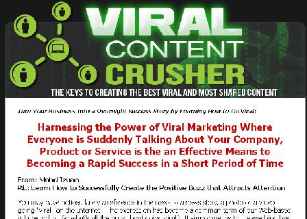 Viral Content Crusher review