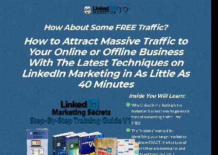 [FULL PLR] LinkedIn Marketing V1 review