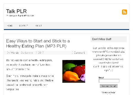 PLR MP3 review