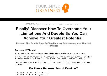 Your Inner Greatness review