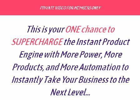 Instant Product Engine - Platinum 40 review
