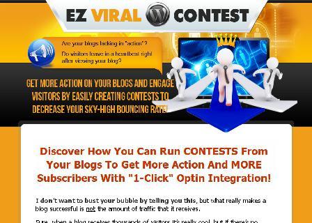 WP EZ Viral Contest review