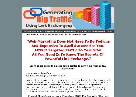 Generating Big Traffic Using Link Exchanging review