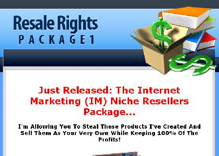 IM Niche Reseller Package review