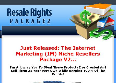 IM Niche Reseller Package V2 review