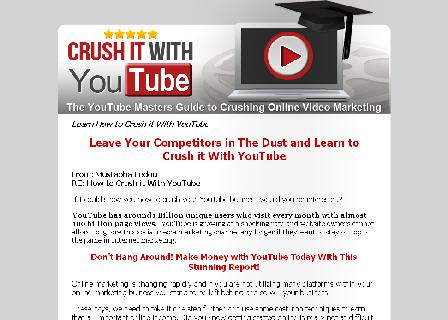 Crush it With YouTube review