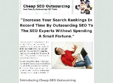 Cheap SEO Oursourcing review