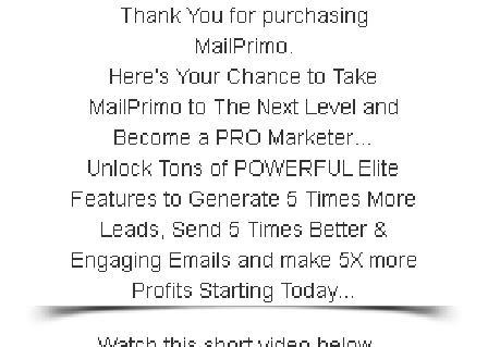 MailPrimo Elite review