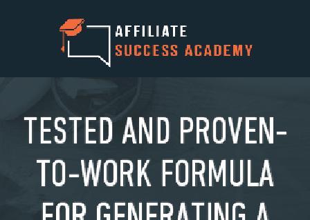 Affiliate Success Academy review