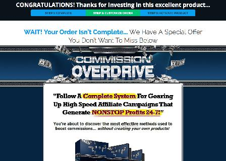 Commission Overdrive Video Guide review