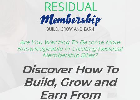 Residual Membership review