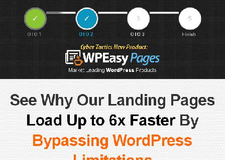 WP Easy Pages Personal License review