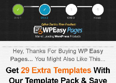 WP Easy Pages Extra Templates review