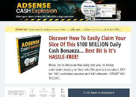 Adsense Cash Explosion review