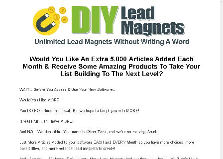 DIY Lead Magnets Gold review