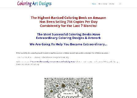 Coloring Art Designs Membership (Single Purchase) review