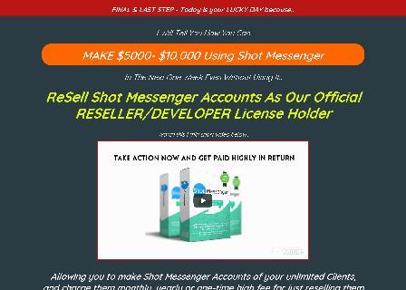 Sellin Messenger OTO3 review