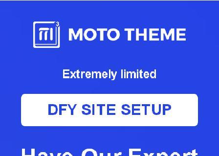 Moto Theme DFY Advanced ( OTO 5 ) review