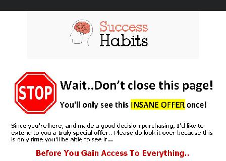 Success Habits Master Resell Rights review