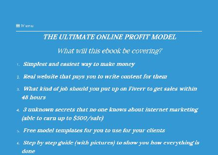 HOW TO GENERATE SALES ONLINE WITHOUT ANY INVESTMENT review