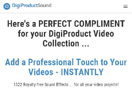 DPV4 Upsell 3 -  DigiProduct Sound SFX Pack review