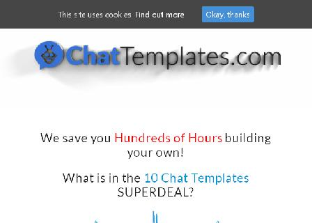 10 Pack Messenger Templates review
