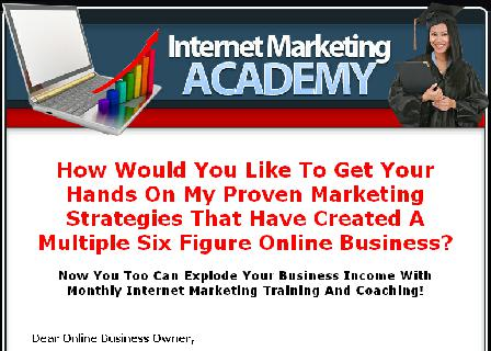 Your Internet Marketing Club review