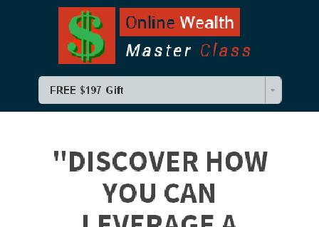 Online Wealth Master Class review
