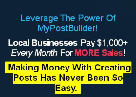 MyPostBuilder Agency Platinum review