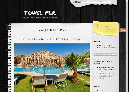 Travel PLR review