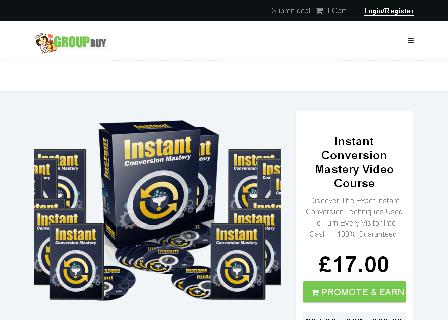 Instant Conversion Mastery Video Course review