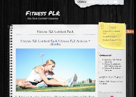 Fitness PLR review