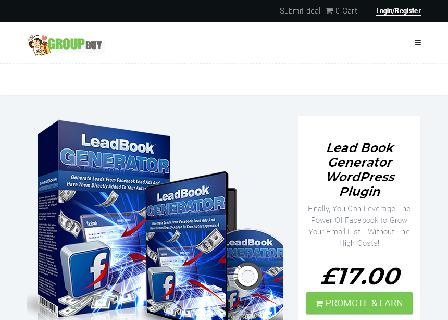 Lead Book Generator WordPress Plugin review