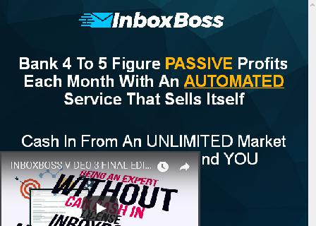 OTO 3- Inboxboss Sell Service review