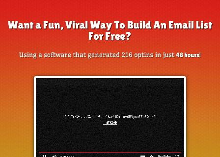 Viral Way To Build An Email List For Free review