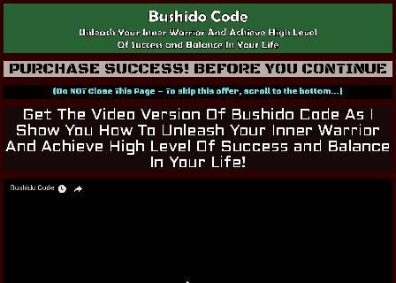 Bushido Code review