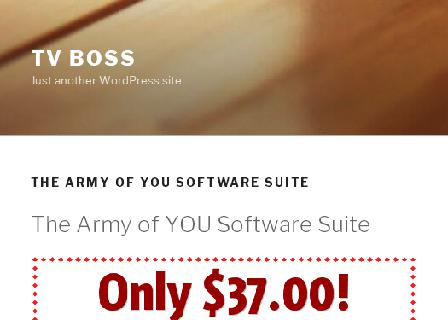 The Army of YOU Software Suite Rebrander review
