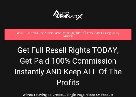 AutoWebinar X - Reseller review