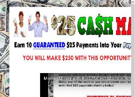 $25 Cash Machine Rotator review