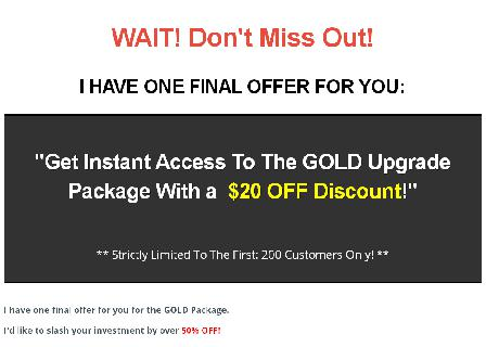 Site Speed Secrets - Gold 5 Module Special review