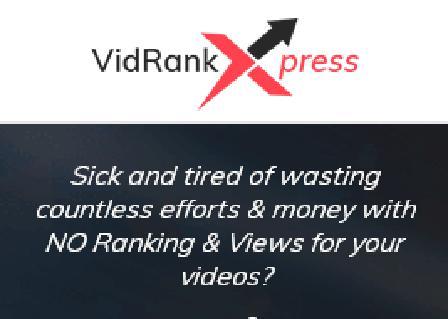 VidRankXpress Starter review