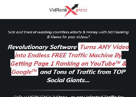 VidRankXpress Scale review