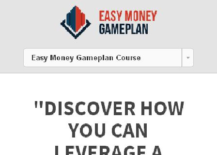 Easy Money Gameplan review