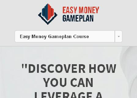 Easy Money Gameplan - LIVE review